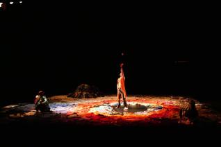 scenographie Camille Lacombe . Nnates .