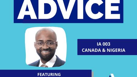 IA 003: Canada and Nigeria with Emeka Udeagha, CFP®,  CDFA®, MBA