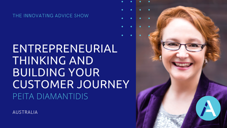 Entrepreneurial Thinking and Building Your Customer Journey with Peita Diamantidis [Ep38]