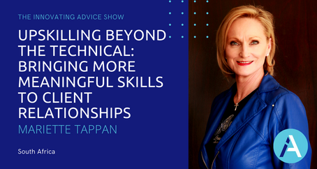 Upskilling Beyond the Technical: Bring More Meaningful Skills to Clients with Mariette Tappan [Ep60]