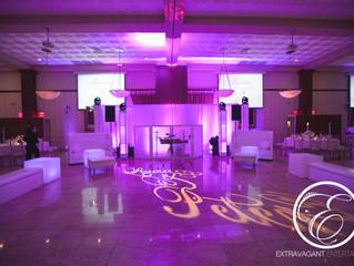 Adding lounge furniture will enhance your wedding reception..