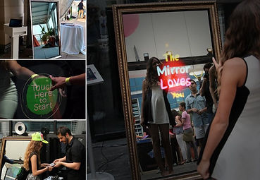 mirror photo booth, wedding photo booth, mirror booth, mirror booth weddings, wedding dj in nj