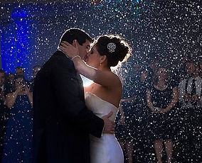 Snow machine for weddings, snow machine for first dance, snow machine dj, snow nj dj, winter wonderland wedding
