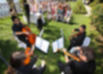 String Quartet for Weddings Live Musicians by Extravagant Entertainment.