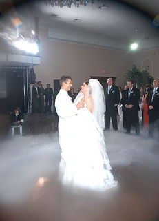 Dry Ice for Weddings Dancing on the Clouds is a excellent add on.