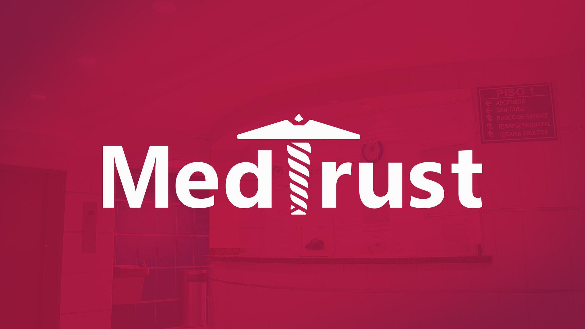 MedTrust Brand Identity Design