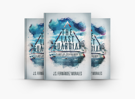 The Last Guardian - Book Cover Design