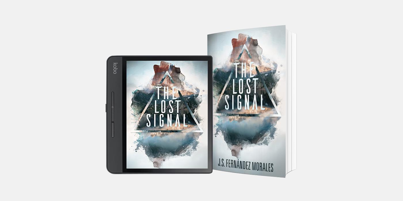 The Lost Signal Book Cover Design