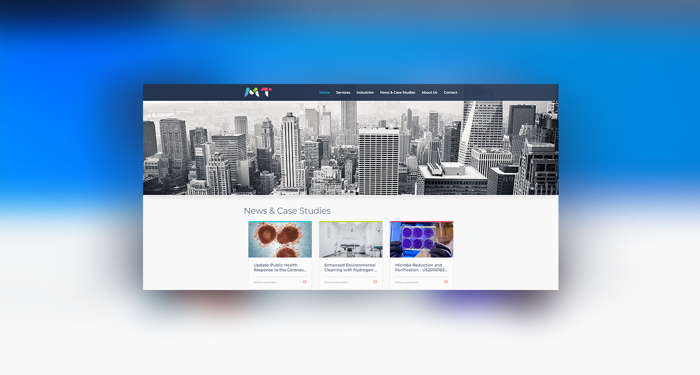 MT Consulting Web Design & Development