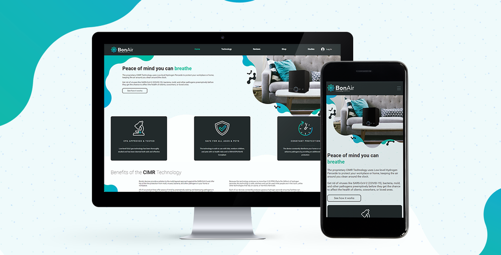 Bonair Web Design & Development