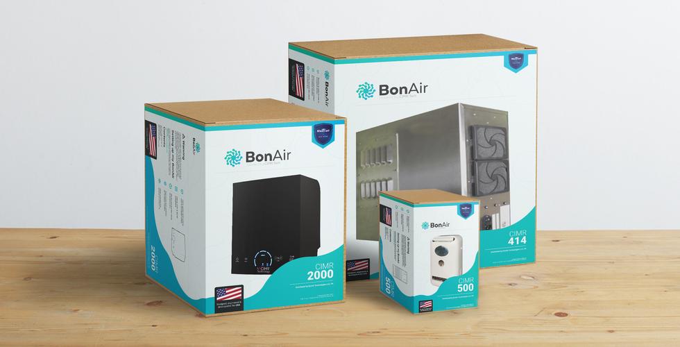 BonAir Package Design