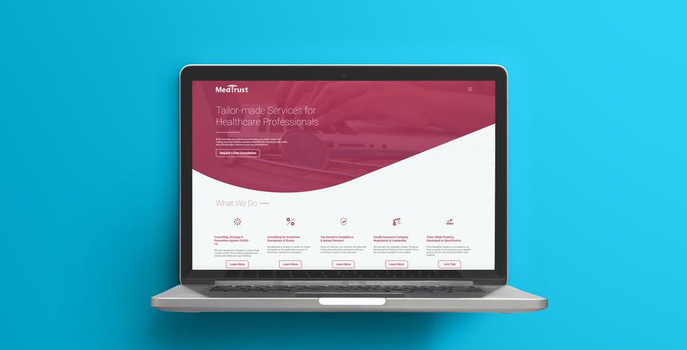 MedTrust Web Design & Development