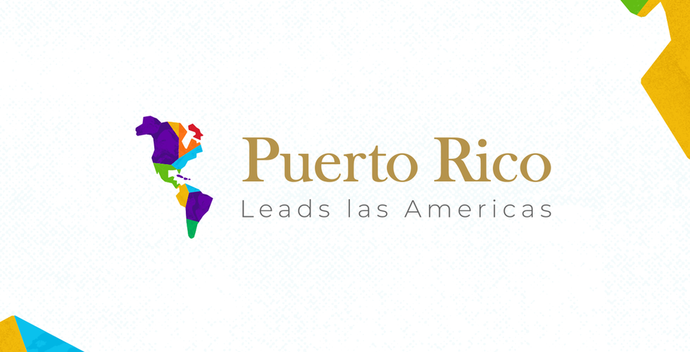 Puerto Rico Leads las Americas Brand Identity Design