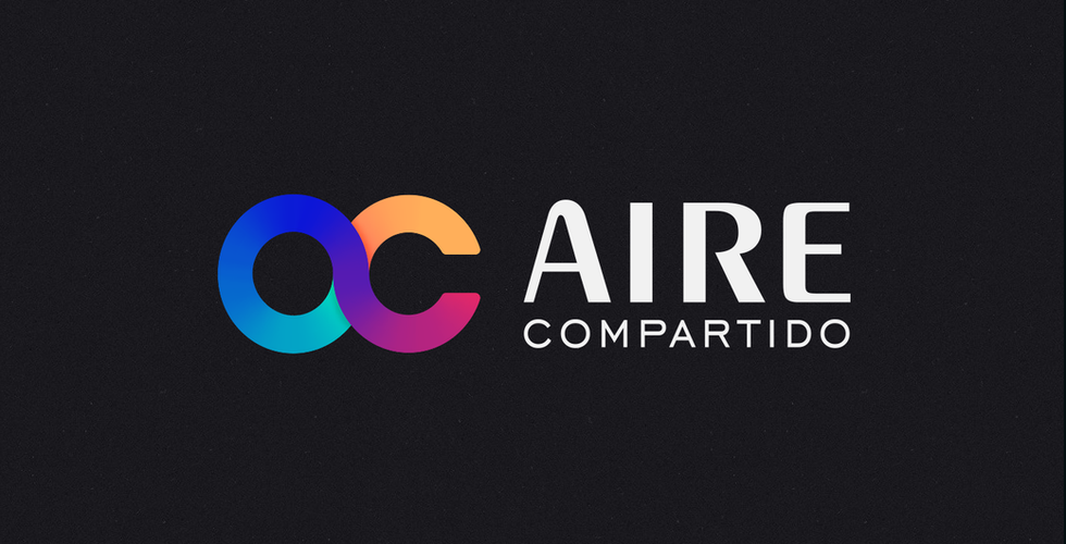 Aire Compartido Brand Identity design