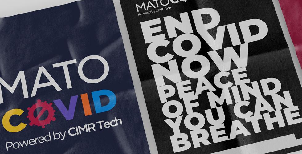 MATOCOVID Brand Identity Design