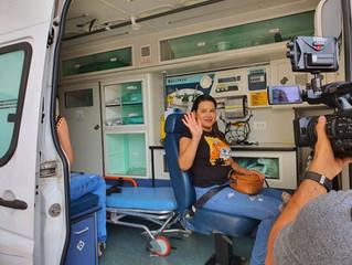 Enem: estudante transplantada no DF vai de ambulância fazer prova; 'Já é uma vitória'