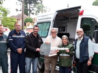 Prefeitura de Erechim adquire nova ambulância para o setor de urgência e emergência