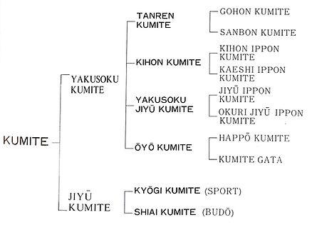 Different Types of Kumite