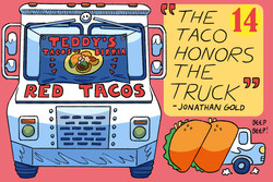 Teddy's Red Tacos (Commission)