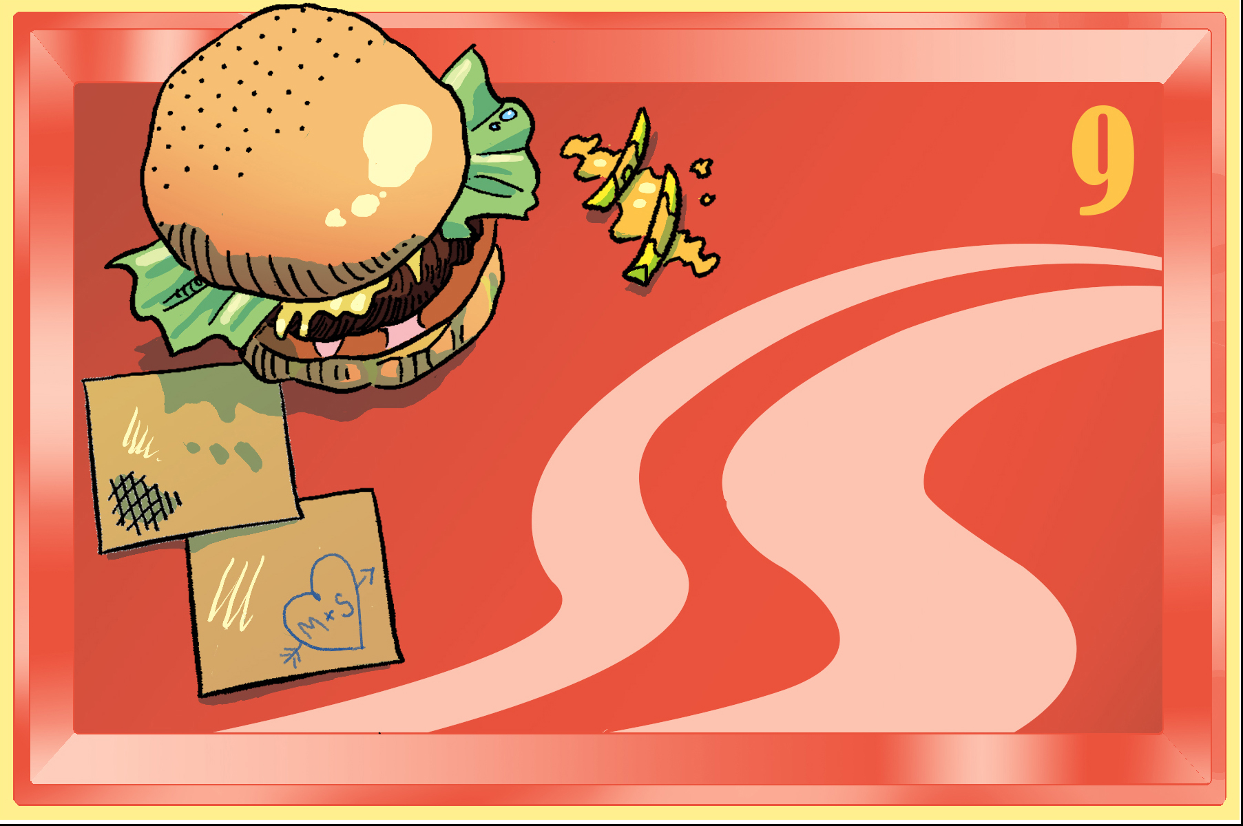 In N Out Burger (Commission)
