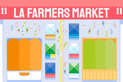 LA Farmers Market (Commission)
