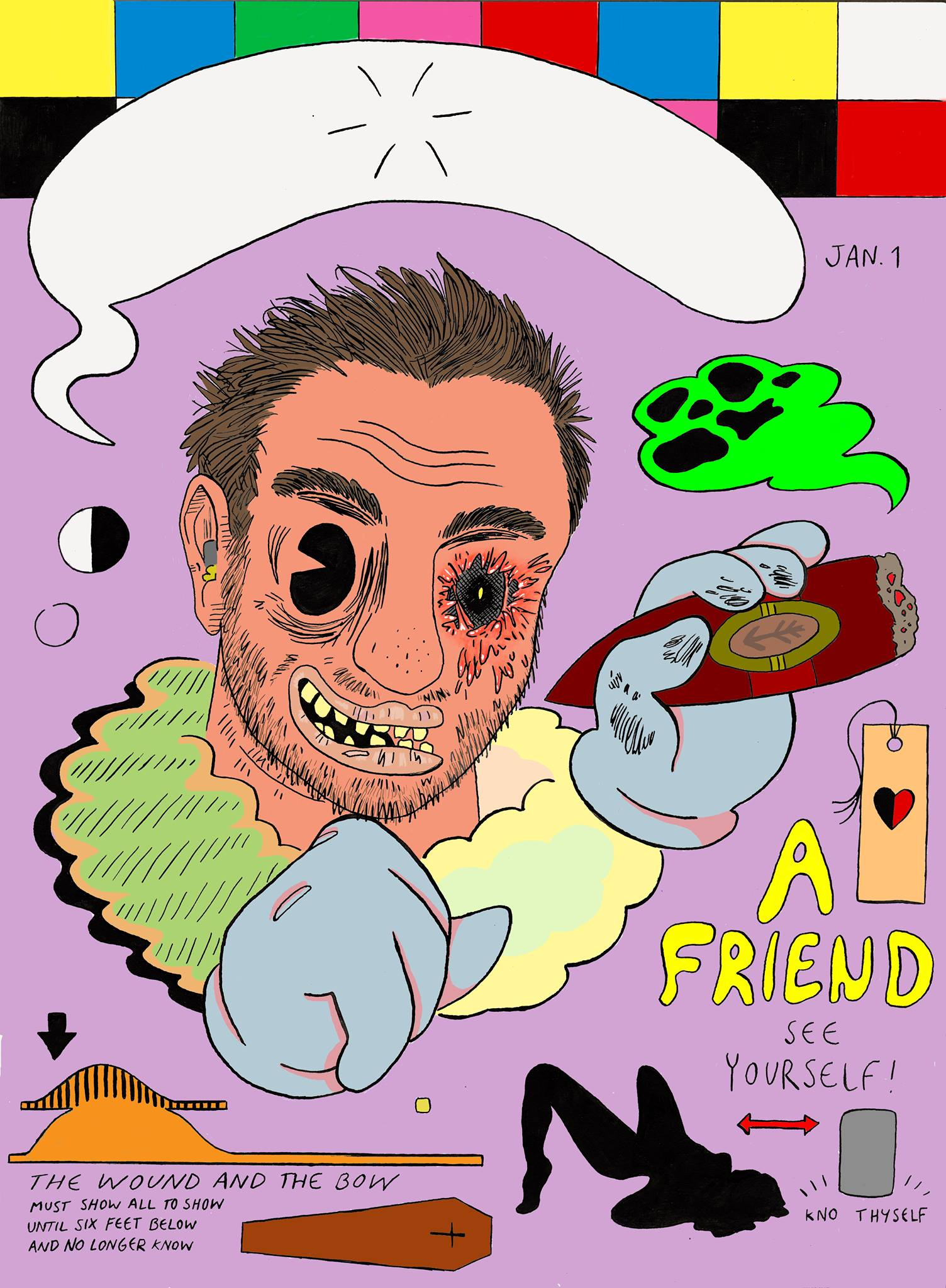 Self Portrait (colored)
