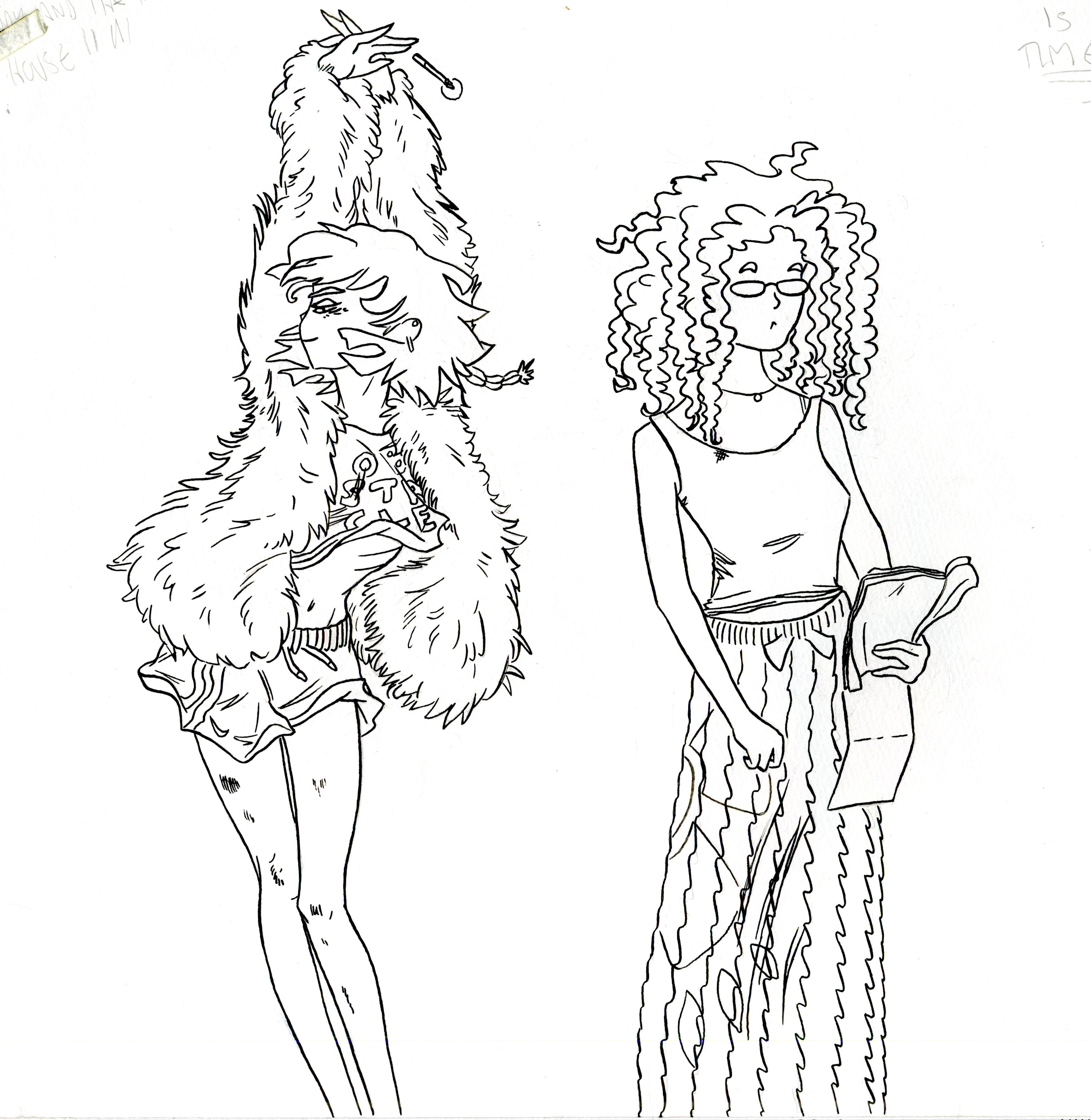 Hazel and Becca 1