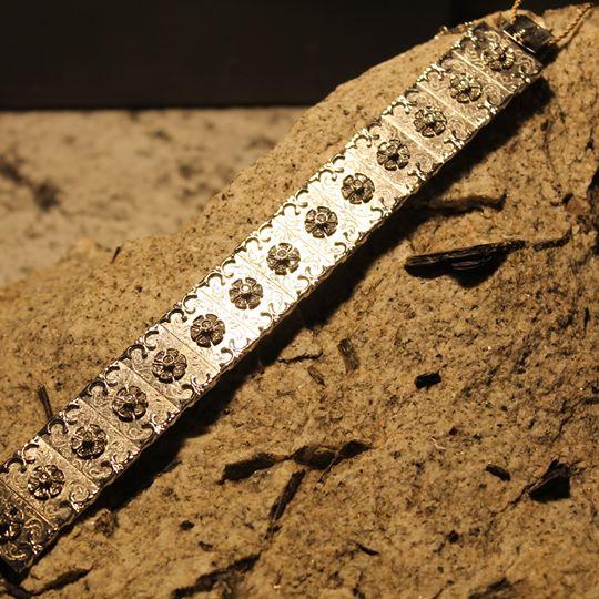 Bracciale in oro e diamanti