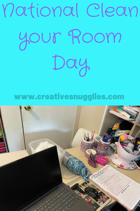 How I Keep my Small Craft Space Tidy