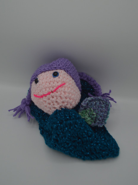Meet Avery the Mermaid Lovey