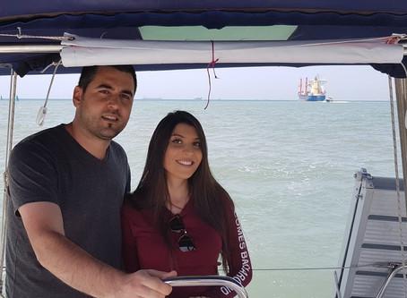 הצעת נישואים מפתיעה בים