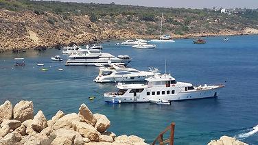 שייט ללרנקה ,הפלגה לקפריסין