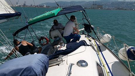 אימון שייט מתקדם-קשת ים,מועדון חברים שייט ביאכטה