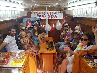 חווות שייט בחיפה,קשת ים,הפלגה משפחתית