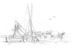 Shrimp docks