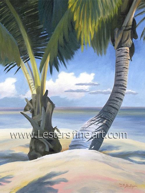 Island Sentinels, matted