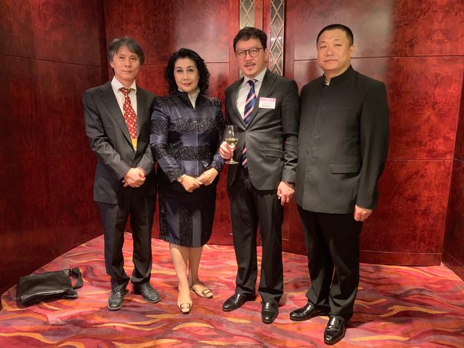 張俊勇出席省級政協慶祝中華人民共和國成立70周年暨會慶13周年酒會