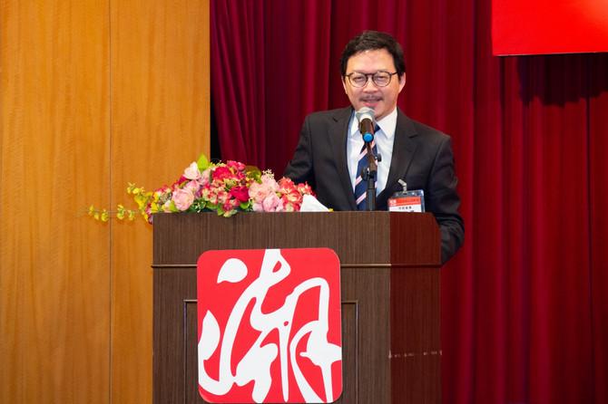 張俊勇出席香港潮屬社團總會兩會精神分享會
