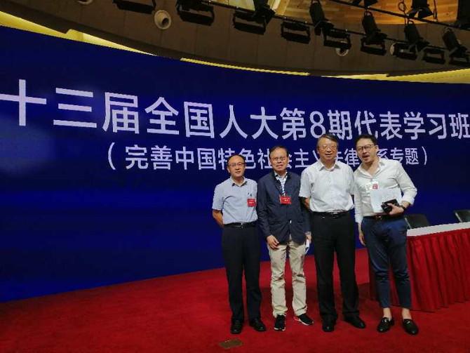 張俊勇赴上海進行專題學習