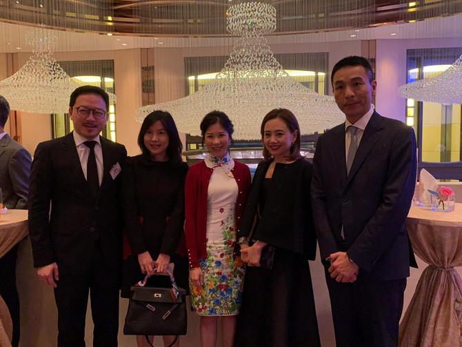 張俊勇出席金紫荊女企業家協會第四屆執委會就職典禮