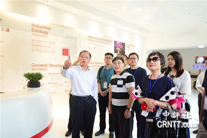 華策影視集團運營總顧問瞿長林講解華策發展史