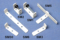 desk divider clamps for croavirus medical screen