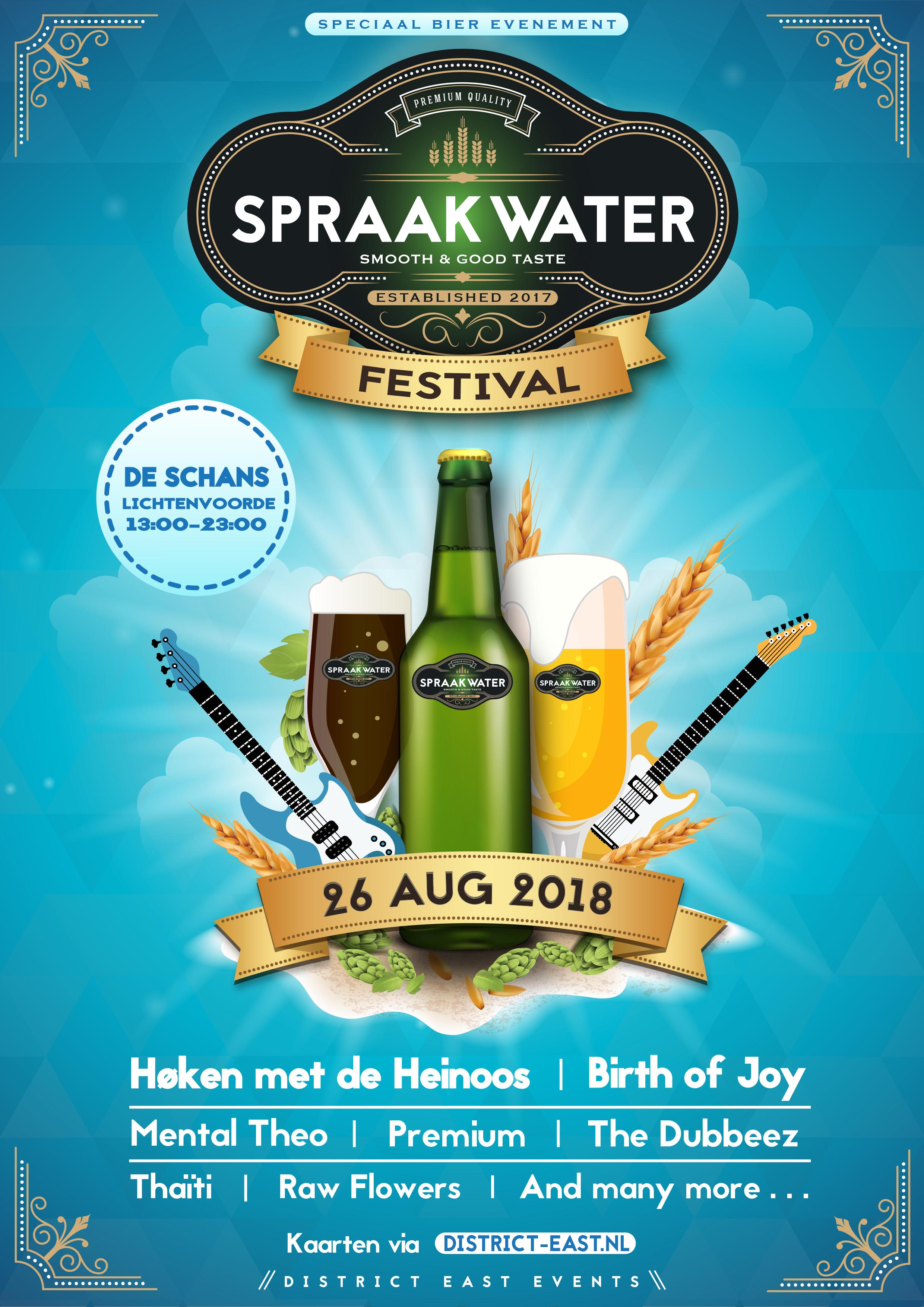 Flyer design for beer festival