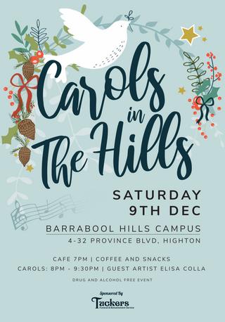 Carols in the Hills Design