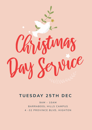 Christmas Day Service Design