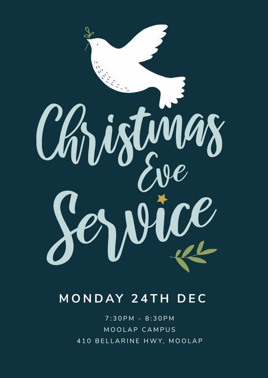 Christmas Eve Service Design
