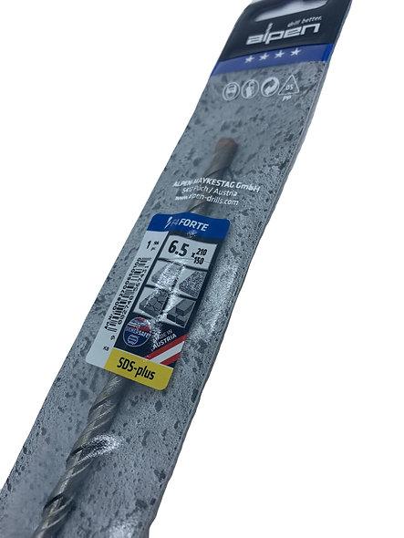 Alpen 6.5mm x 210mm drill bit