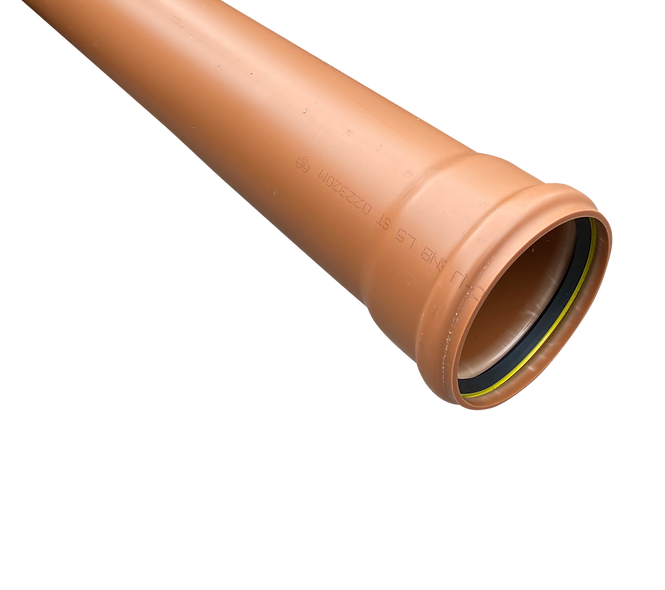 UG 110mm 6mtr s/s sewer pipe