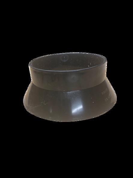 110mm weathering collar black