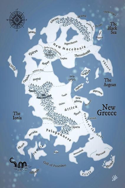 New Greece Map